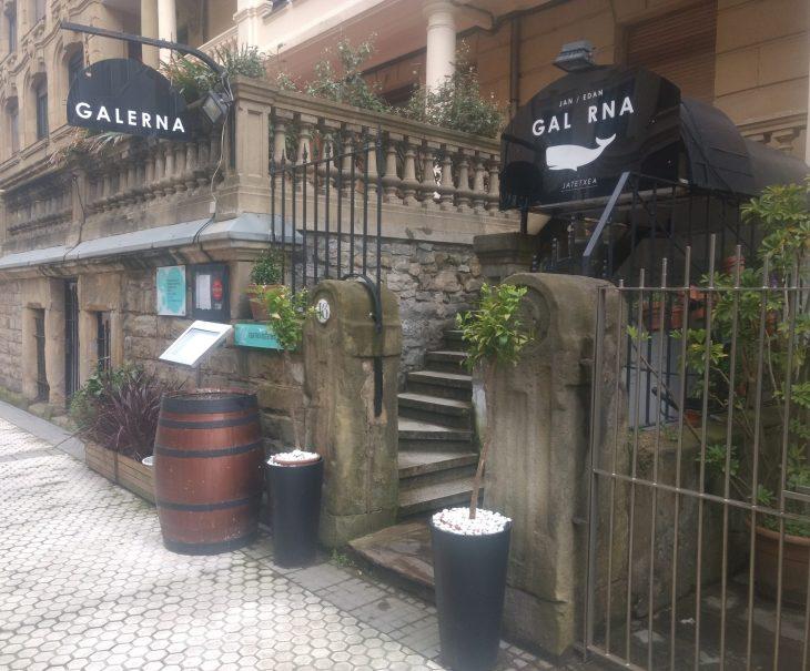 Restaurante Galerna Jan-Edan de Donostia