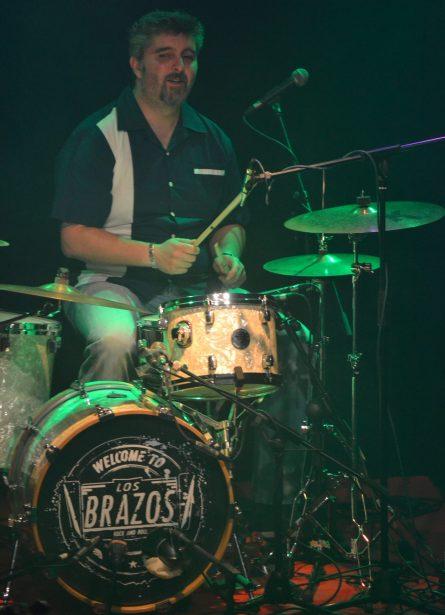 Koki, batería de Los Brazos