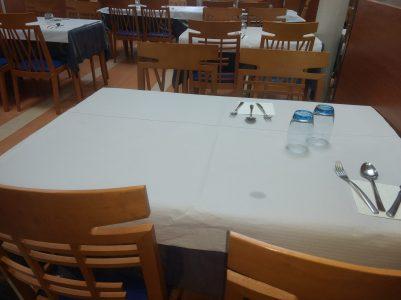 Comedor de El Capricho de Clemente