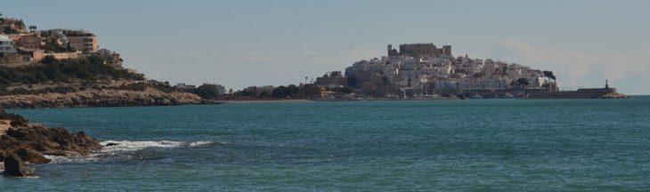 Vista de Peñiscola desde del Moro