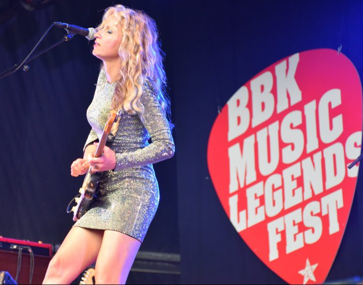 Ana Popovic en el BBK MUsic Legends Fest 2018
