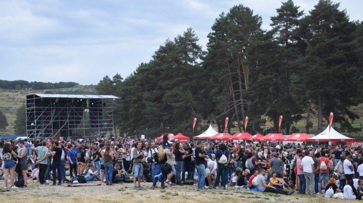 Público en el Festival Músicos en la Naturaleza de Gredos