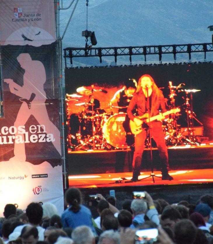 Maná en el Festival Músicos en la Naturaleza 2018 de Gredos