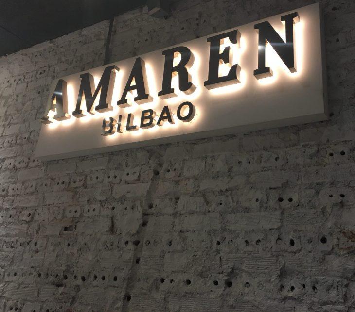 Restaurante Amaren de Bilbao