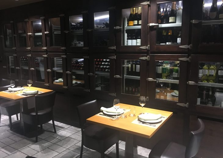 Comedor del Restaurante La Regadera de Vitoria-Gasteiz