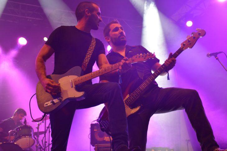 Los Brazos en el Getxo Sound Fest 2018