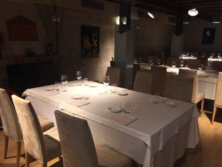 Comedor del Restaurante Jauregibarria de Amorebieta