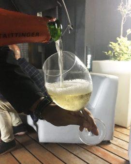 Una copa en la Terraza del Yandiola
