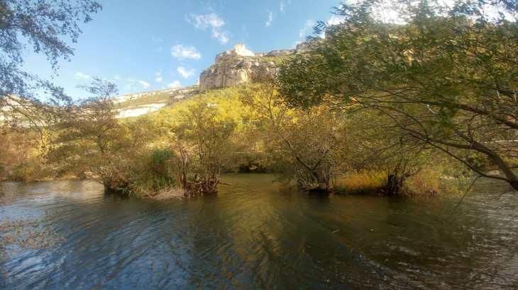 Desfiladero de los Hocinos y el Río Ebro