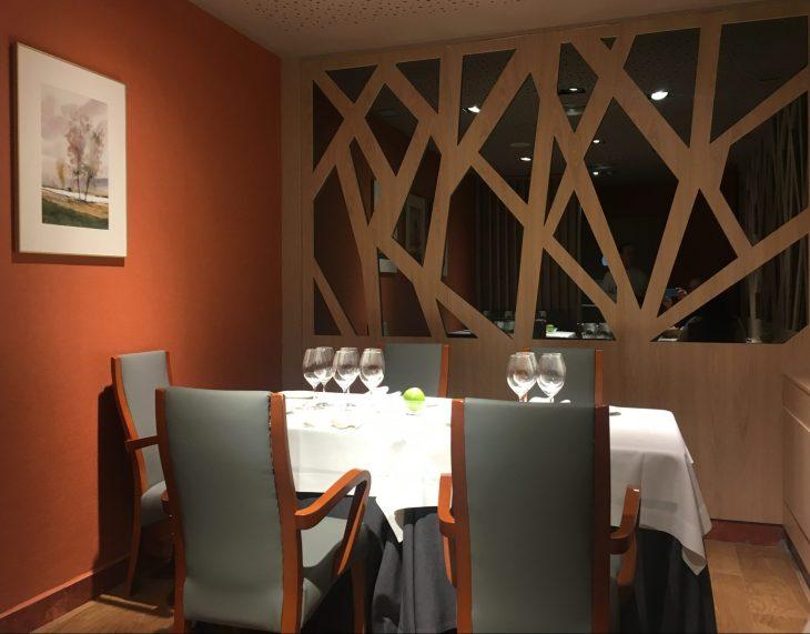 Comedor del Restaurante Zaldiaran de Vitoria-Gasteiz