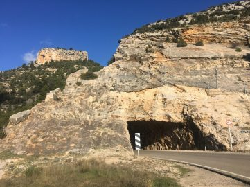 Túnel de entrada a Beceite