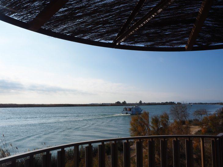 Torre de observación en el Delta del Ebro