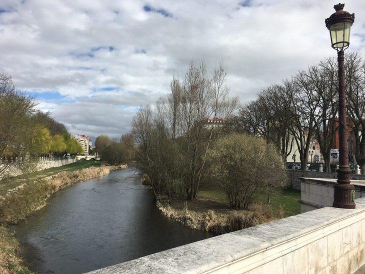 Puente de Santa María sobre el Rio Arlanzón