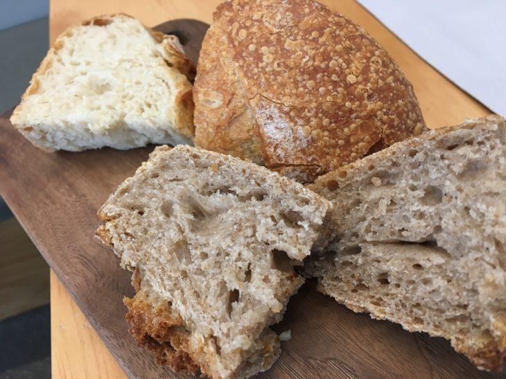 Degustación de panes artesanos asturianos