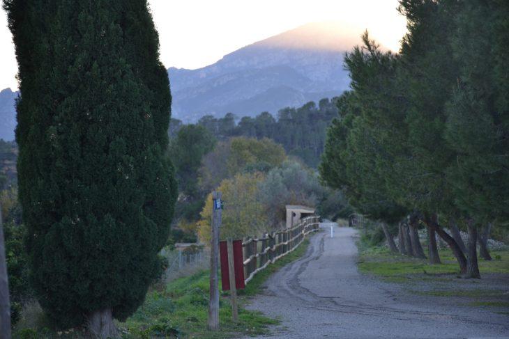 Vía Verde hacia Tortosa
