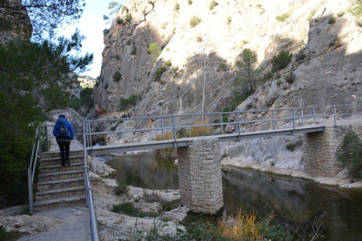Río Canaletes en el Desfiladero de La Fontcalda