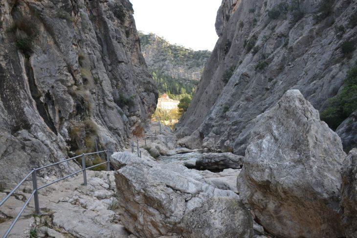 Balneario y Desfiladero de La Fontcalda