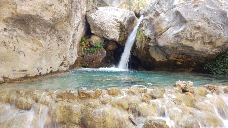 Cascada y Poza del Vado de los Patos