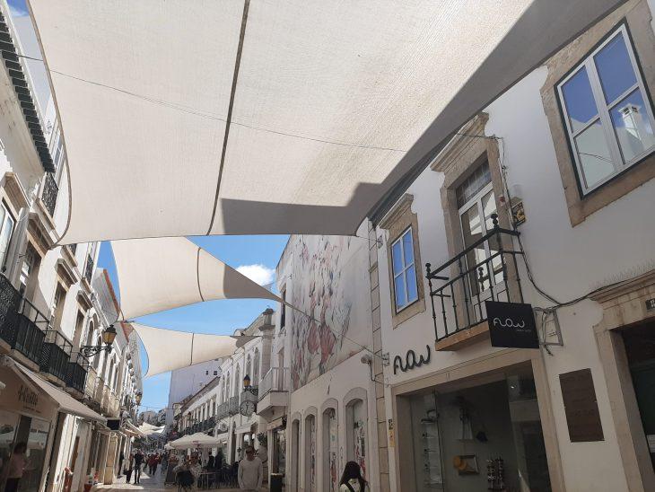 Zona peatonal de Faro