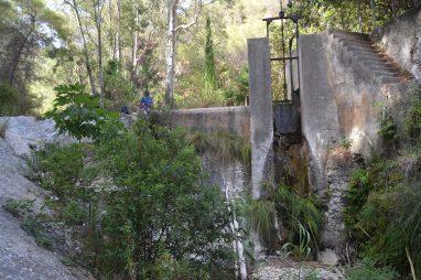 Presa del Río Chillar