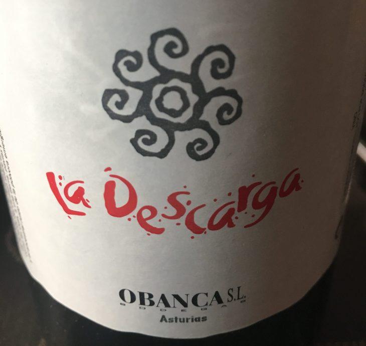 Vino asturiano La Descarga