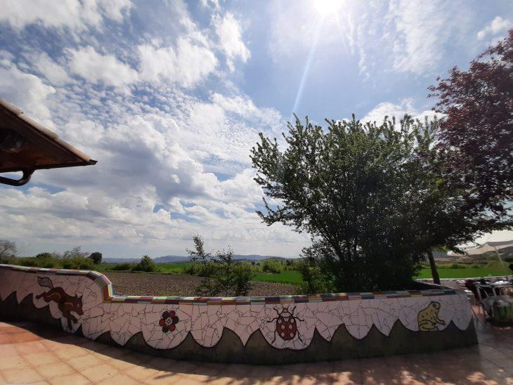 Terraza del Asador Borda Berri