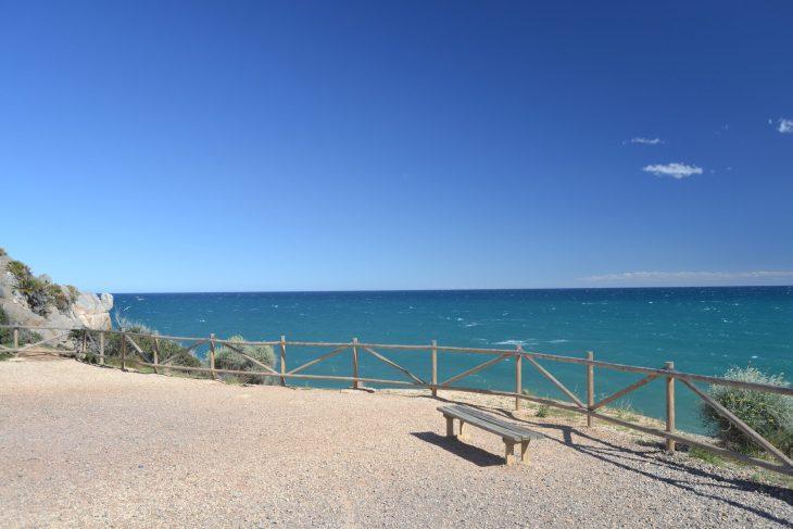 Mirador frente al mar