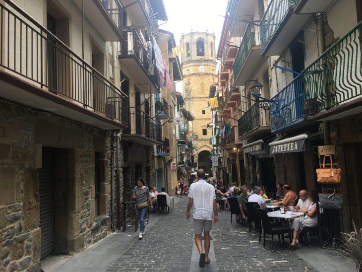 Calles de Getaria