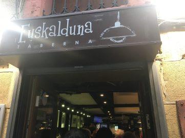 Bar Euskalduna de Zarautz