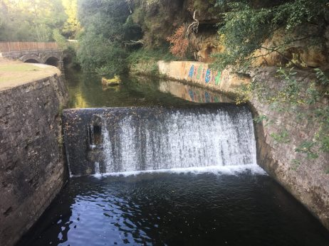 Presa del río Engaña