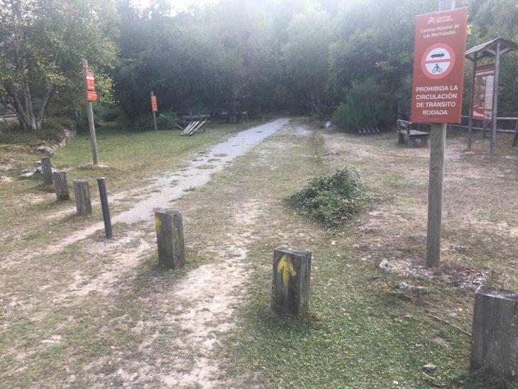 Tramo de la Engaña del Camino Natural de Las Merindades