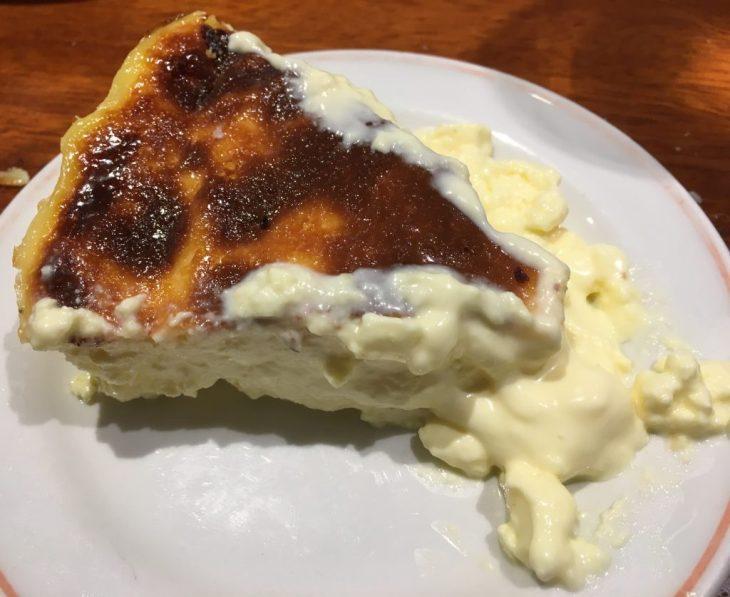Tarta de queso del Asador Etxebarri