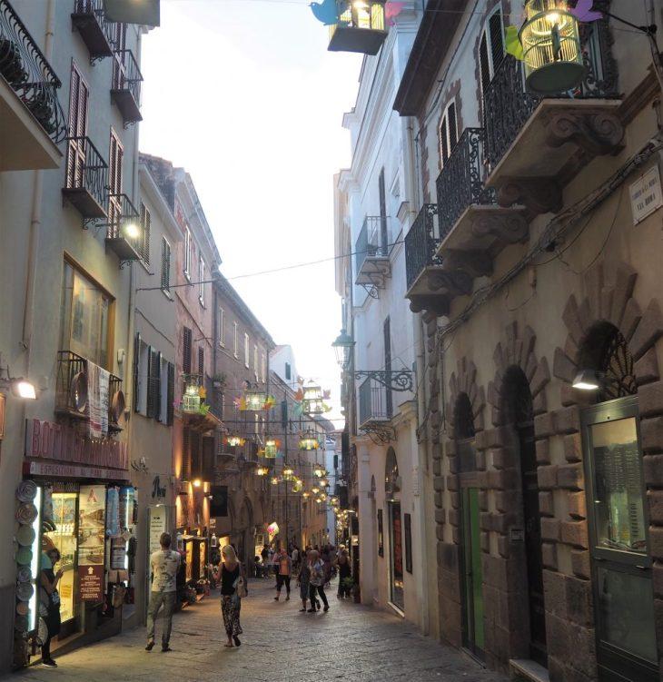 Calles de Alghero
