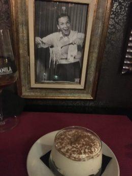 Tiramisú en el Coppola Bilbao