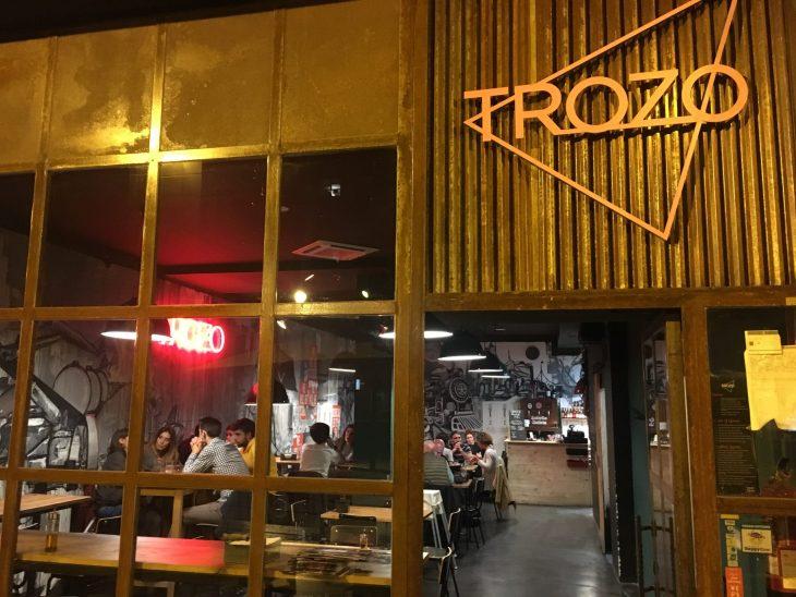 Trozo Pizza de Bilbao