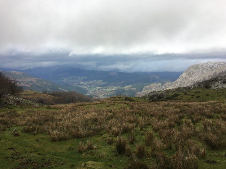Vista de Orozko desde las Majadas de Austigarmin