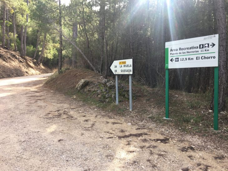 Ruta en coche por la Sierra de Cazorla