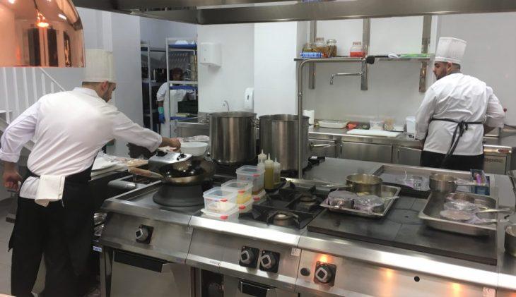 Cocina a la vista