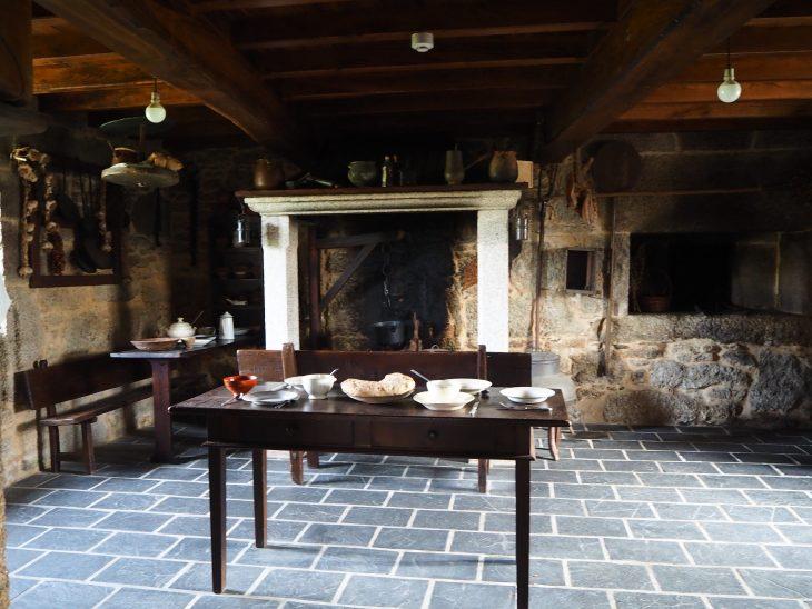 Cocina de la Casa O Pazo