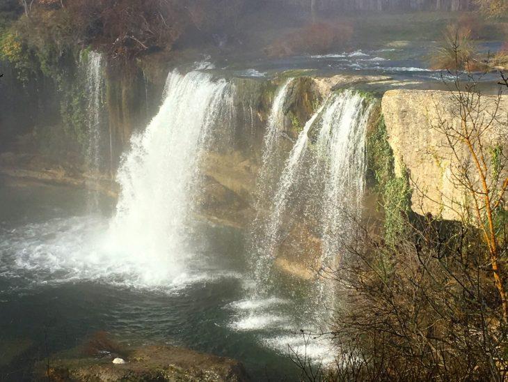 Cascada del Peñón entre Pedrosa de Tobalina y La Orden