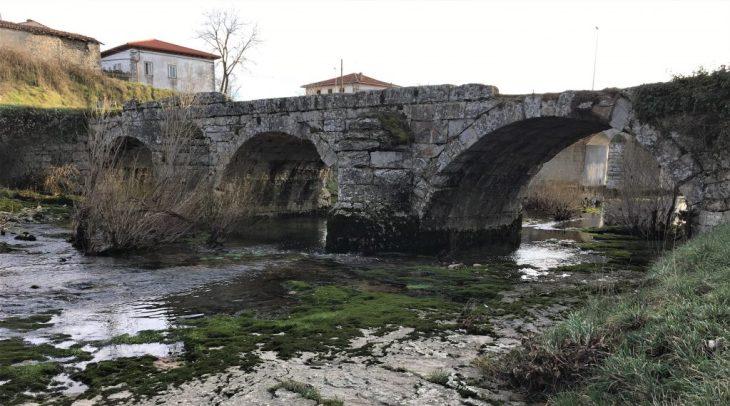 Puente romano o Puente Viejo de Quincoces de Yuso