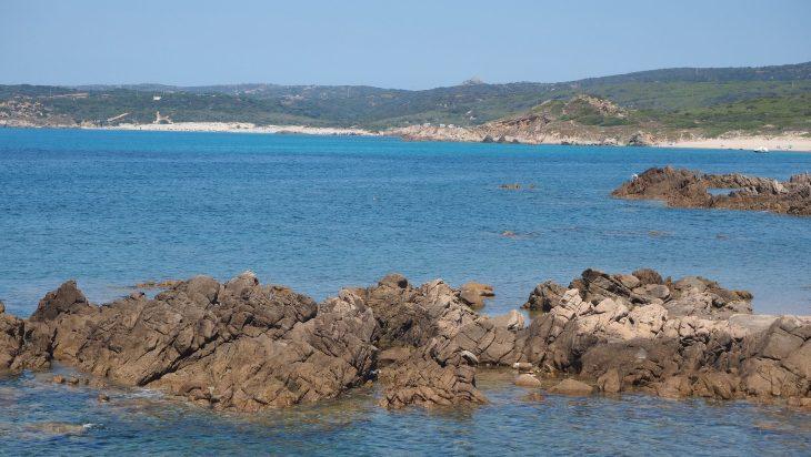 Playa Rena Majore al fondo