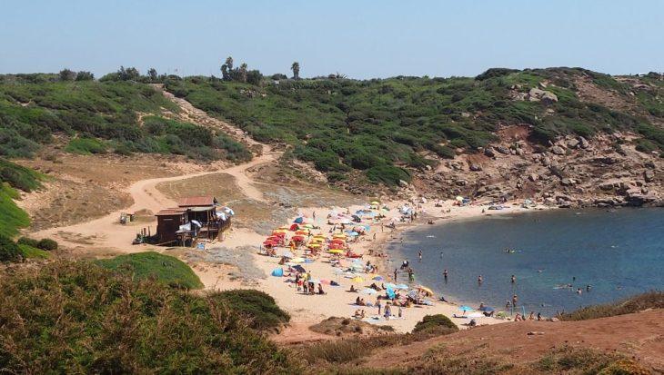 Playa Torre del Porticciolo en Cerdeña