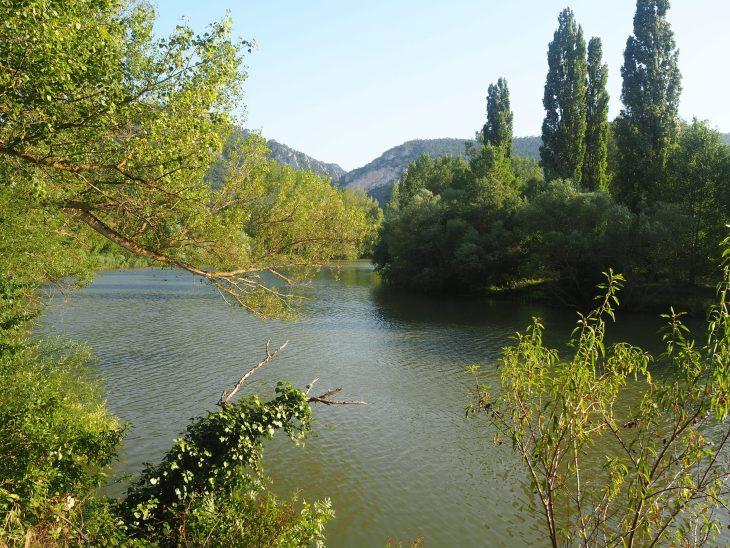 Río Ebro a su paso por Cillaperlata
