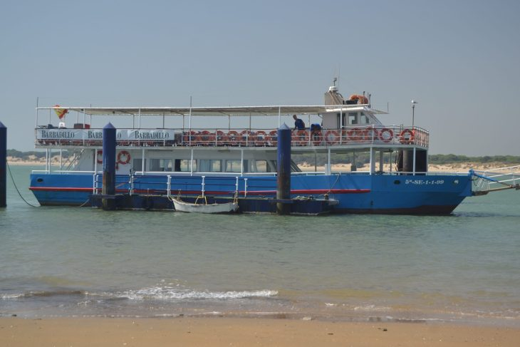 Visita a Doñana en barco desde Sanlúcar de Barrameda