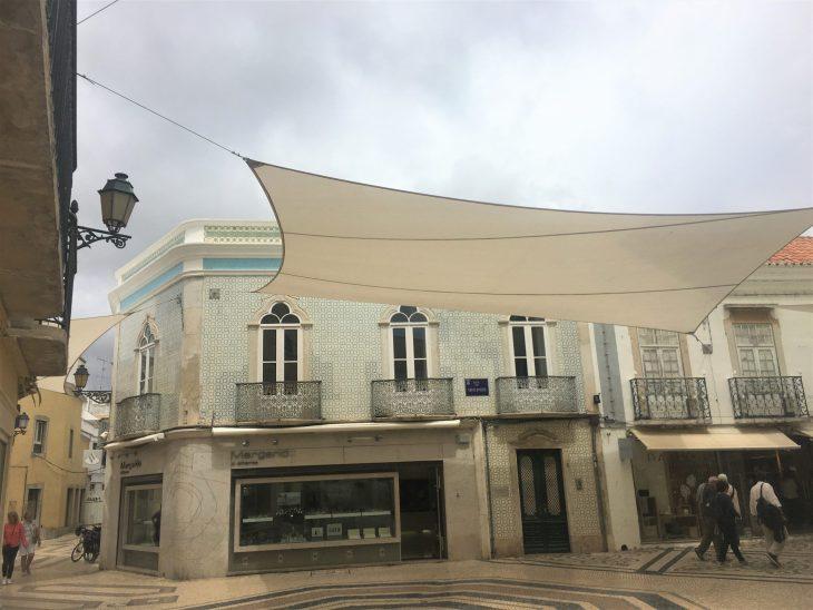 Calles comerciales de Faro