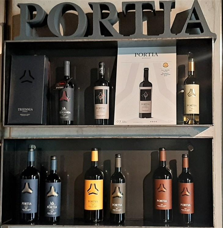 Vinos de Bodegas Portia