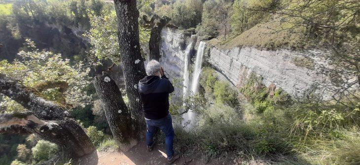 Mirador natural de la Cascada de Gujuli
