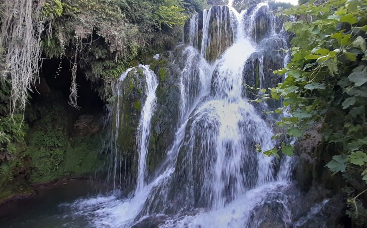 Cascadas de Tobera en Las Merindades