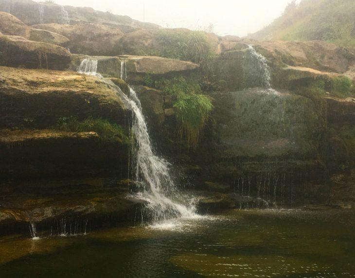 Cascada de Guarguero en Las Merindades